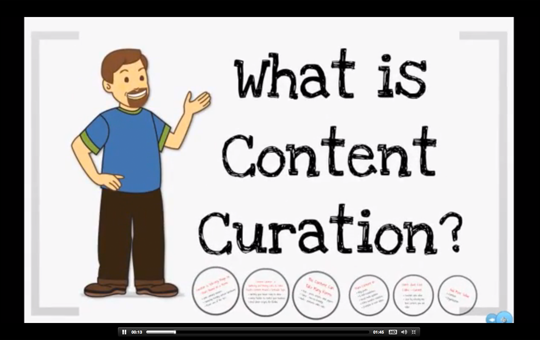 Content Curation Course Preview