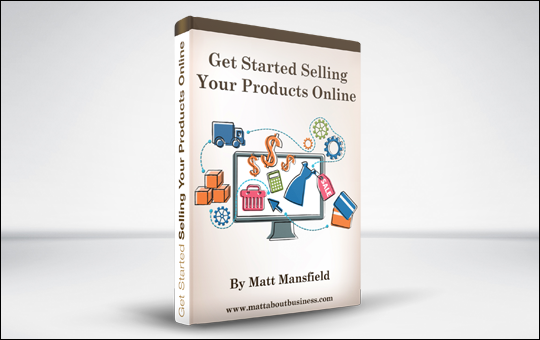 Get Started Selling Your Products Online