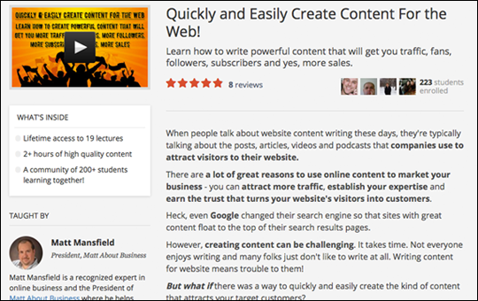 Quickly and Easily Create Content For the Web
