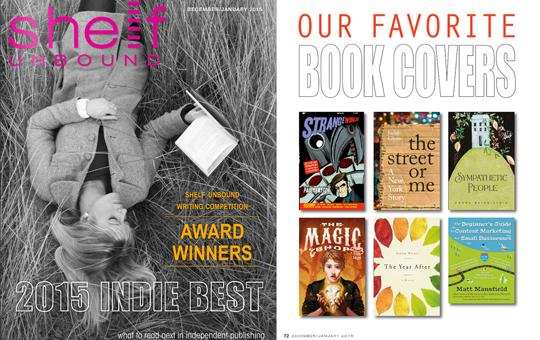 Shelf Unbound Book Cover Award